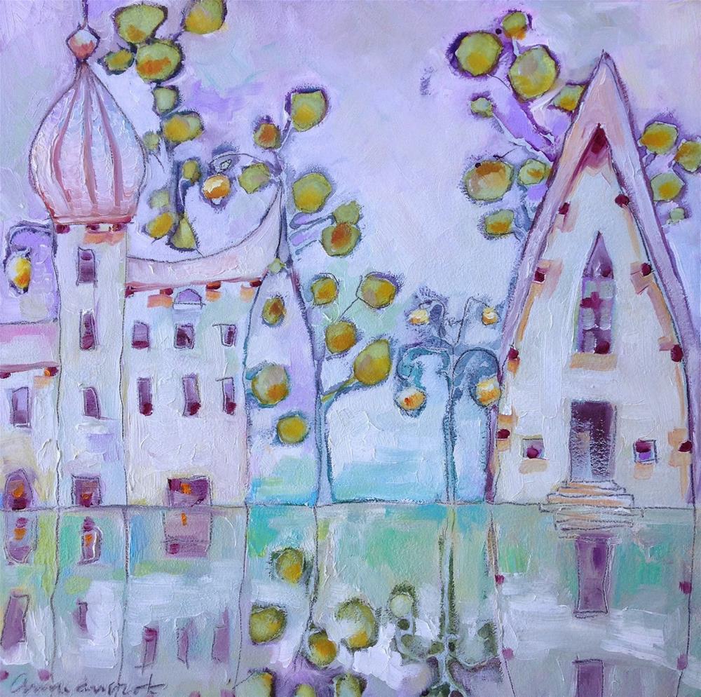 """After the Rain..."" original fine art by Anne Ducrot"