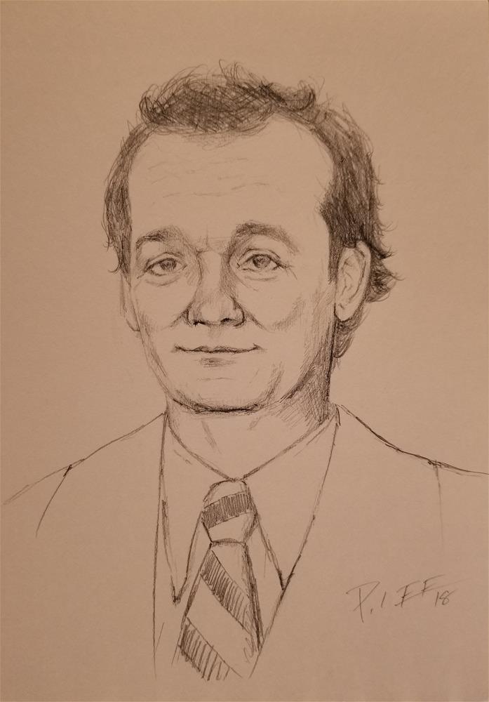 """""""Bill M."""" original fine art by Peter Lee"""