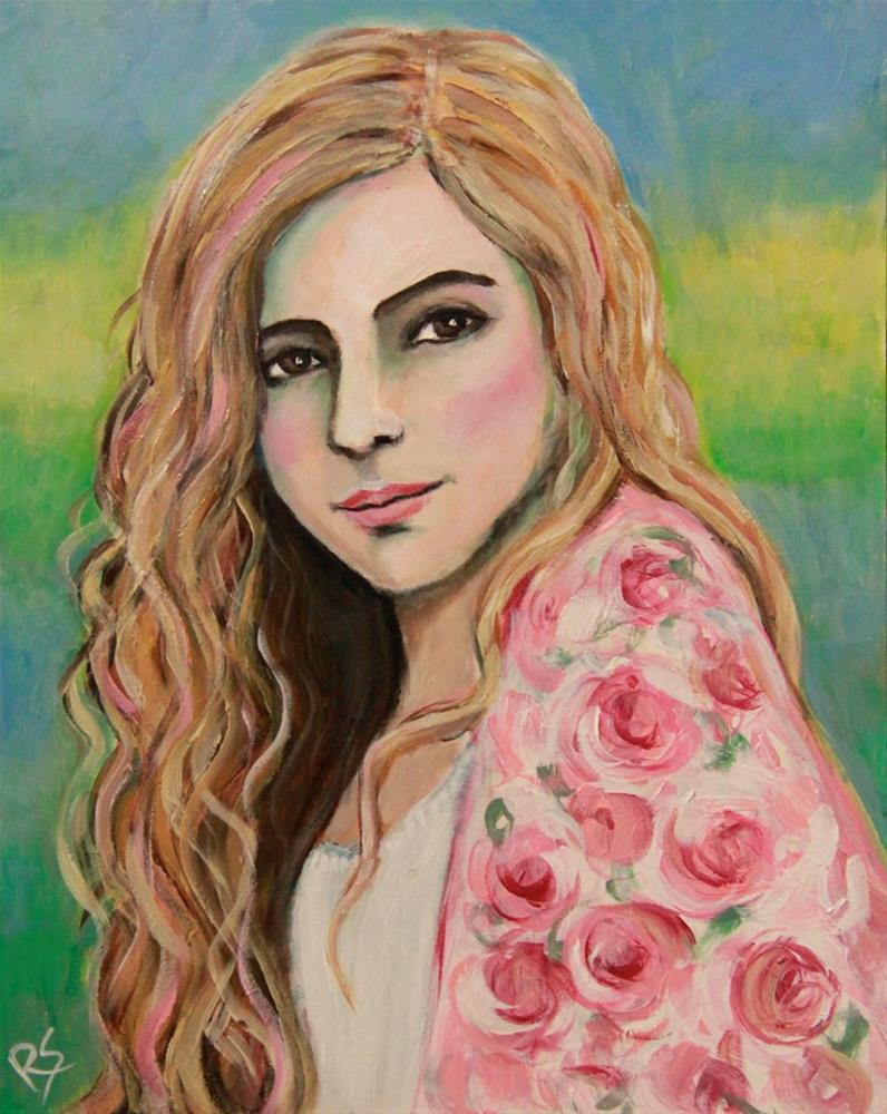 """Samantha"" original fine art by Roberta Schmidt"