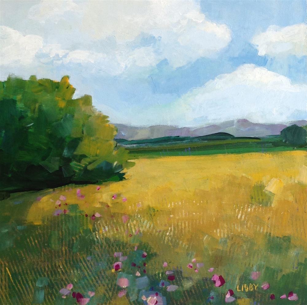 """Proud Meadow"" original fine art by Libby Anderson"