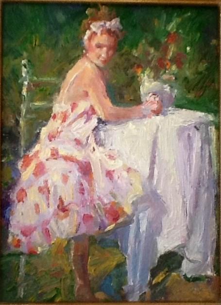 """""""Spring"""" original fine art by Marileigh Schulte"""