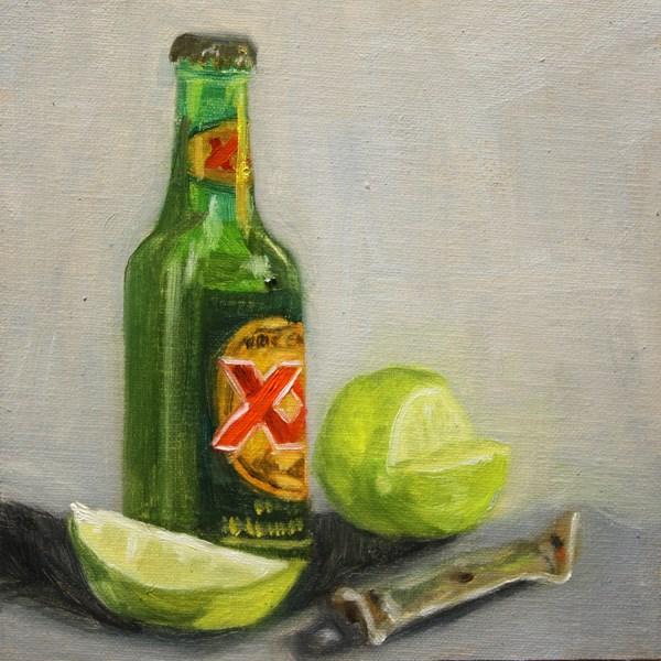 """Just Chillin'"" original fine art by Jane Frederick"