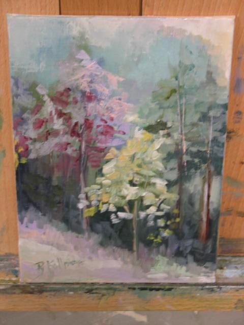 """Spring"" original fine art by Brenda Kollman"