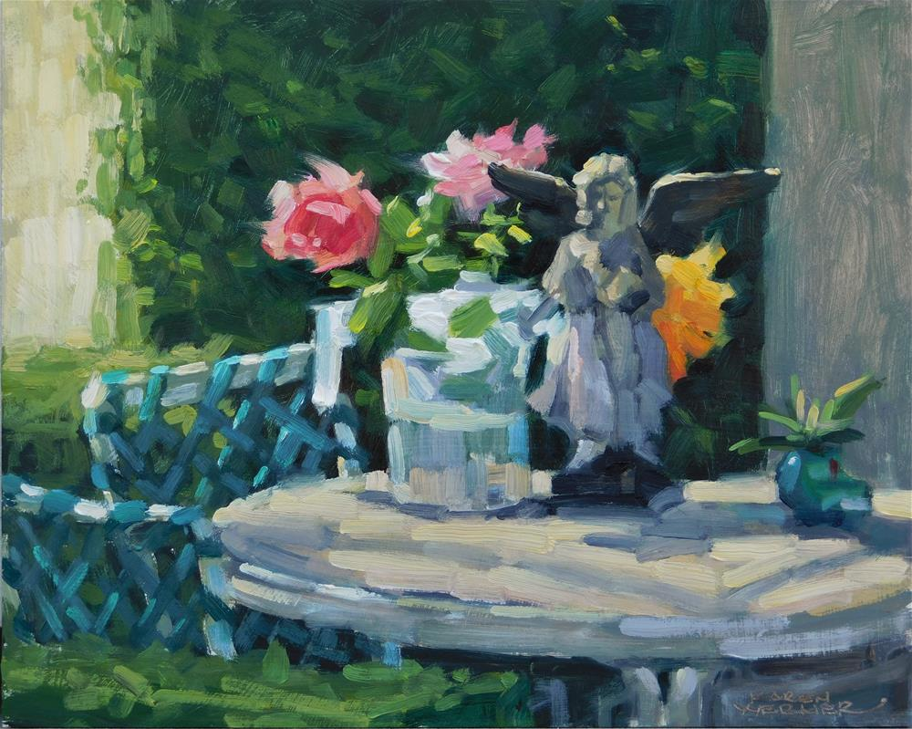 """""""Afternoon Angel"""" original fine art by Karen Werner"""