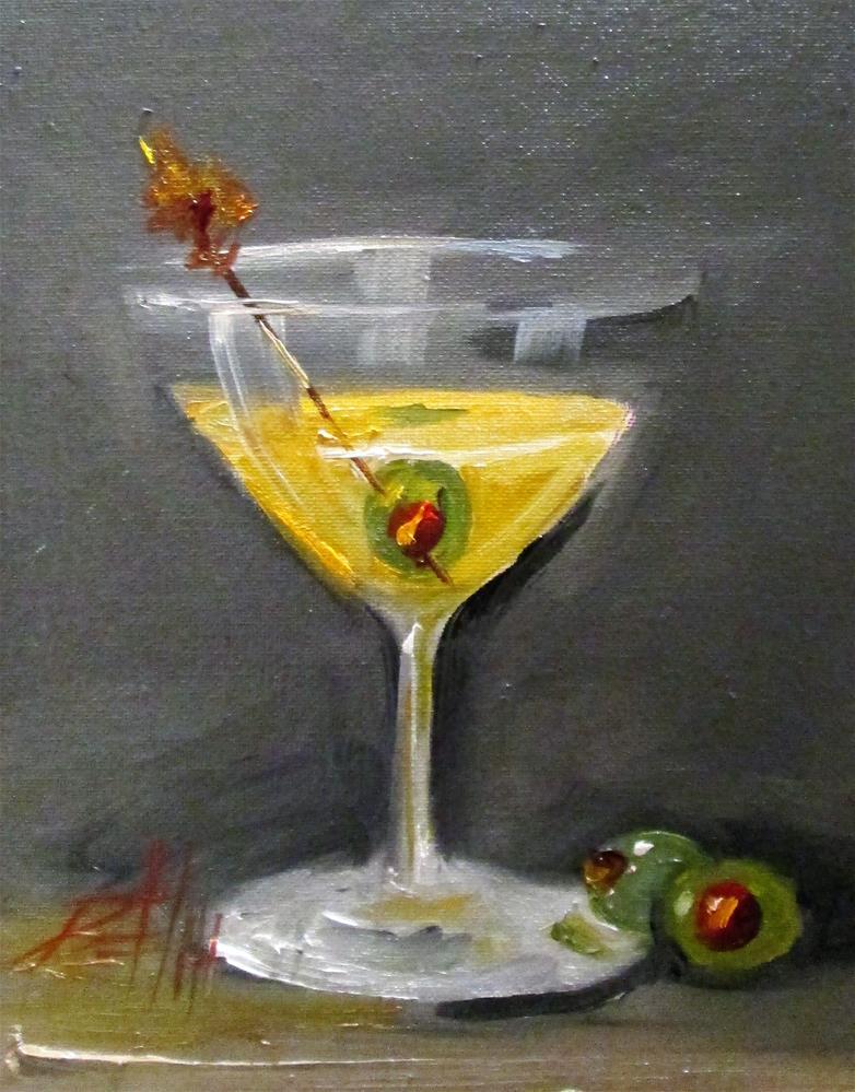 """""""Martini"""" original fine art by Delilah Smith"""