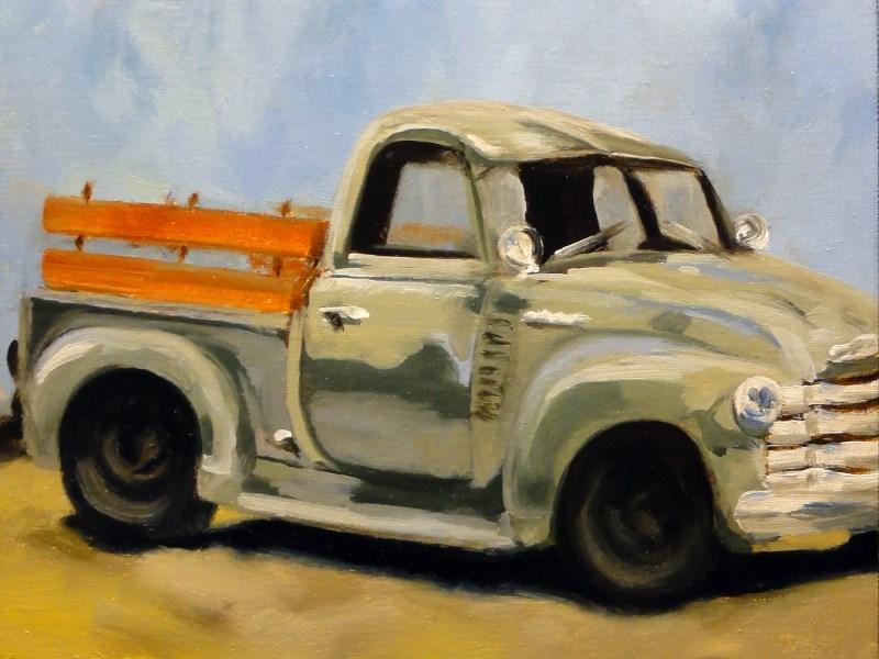 """Old Faithful"" original fine art by Dalan Wells"