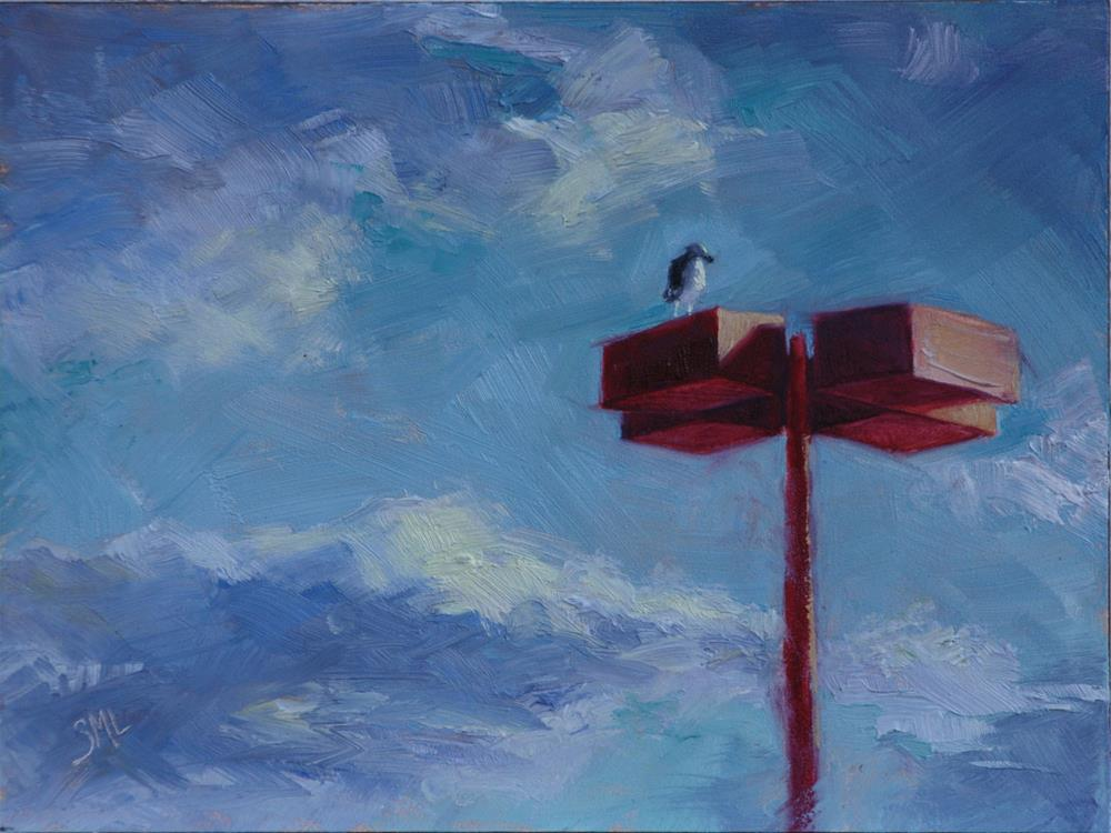 """The Lookout"" original fine art by Sheila Marie"