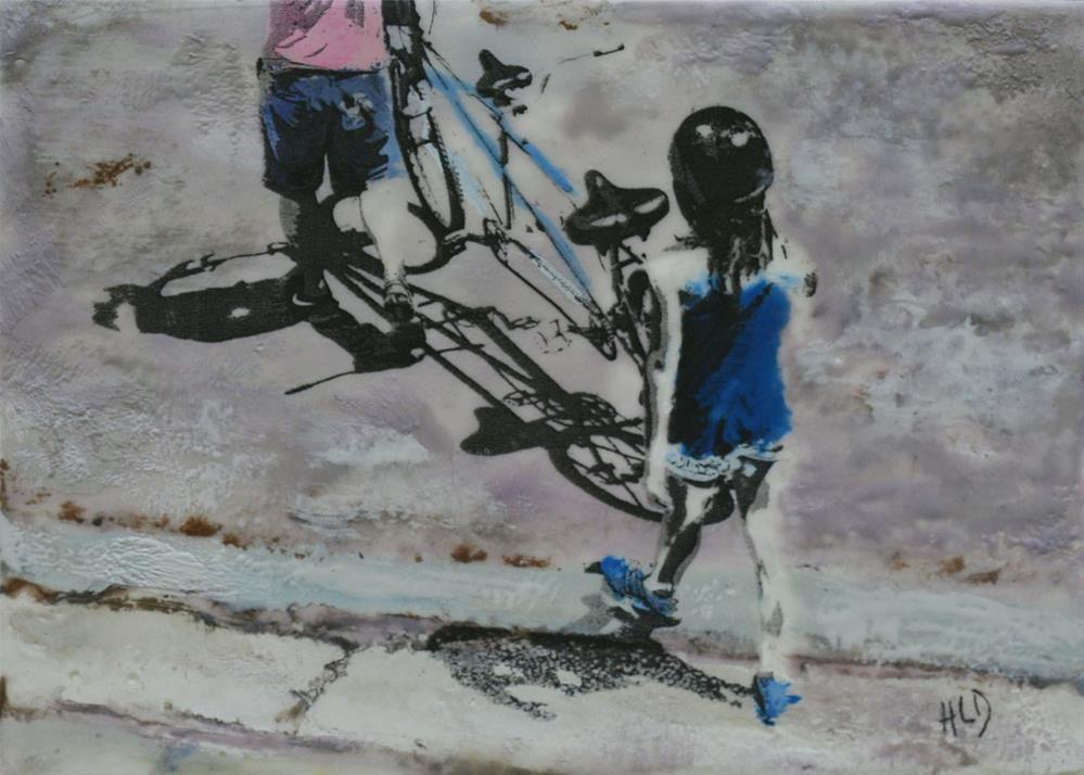 """Tandem"" original fine art by Heather Douglas"