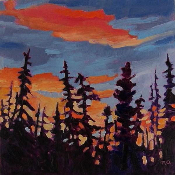 """Borrowed Sky"" original fine art by Nicki Ault"