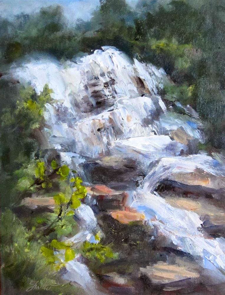 """The Falls"" original fine art by Pat Fiorello"