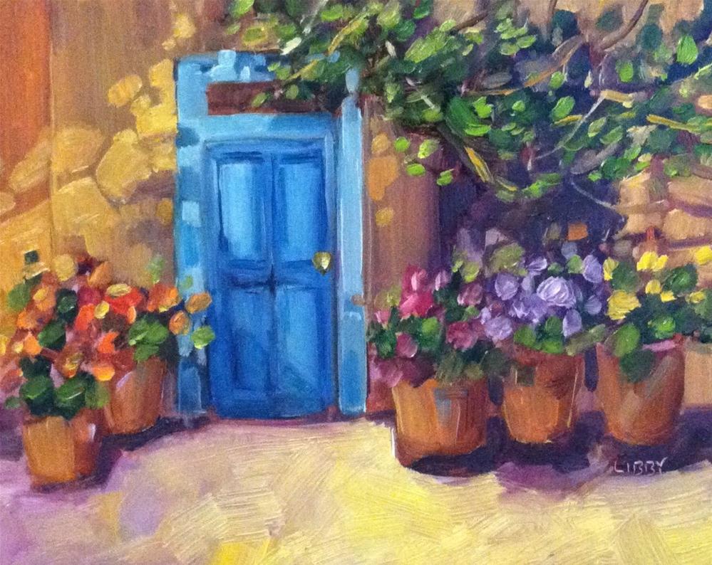 """Firenze"" original fine art by Libby Anderson"