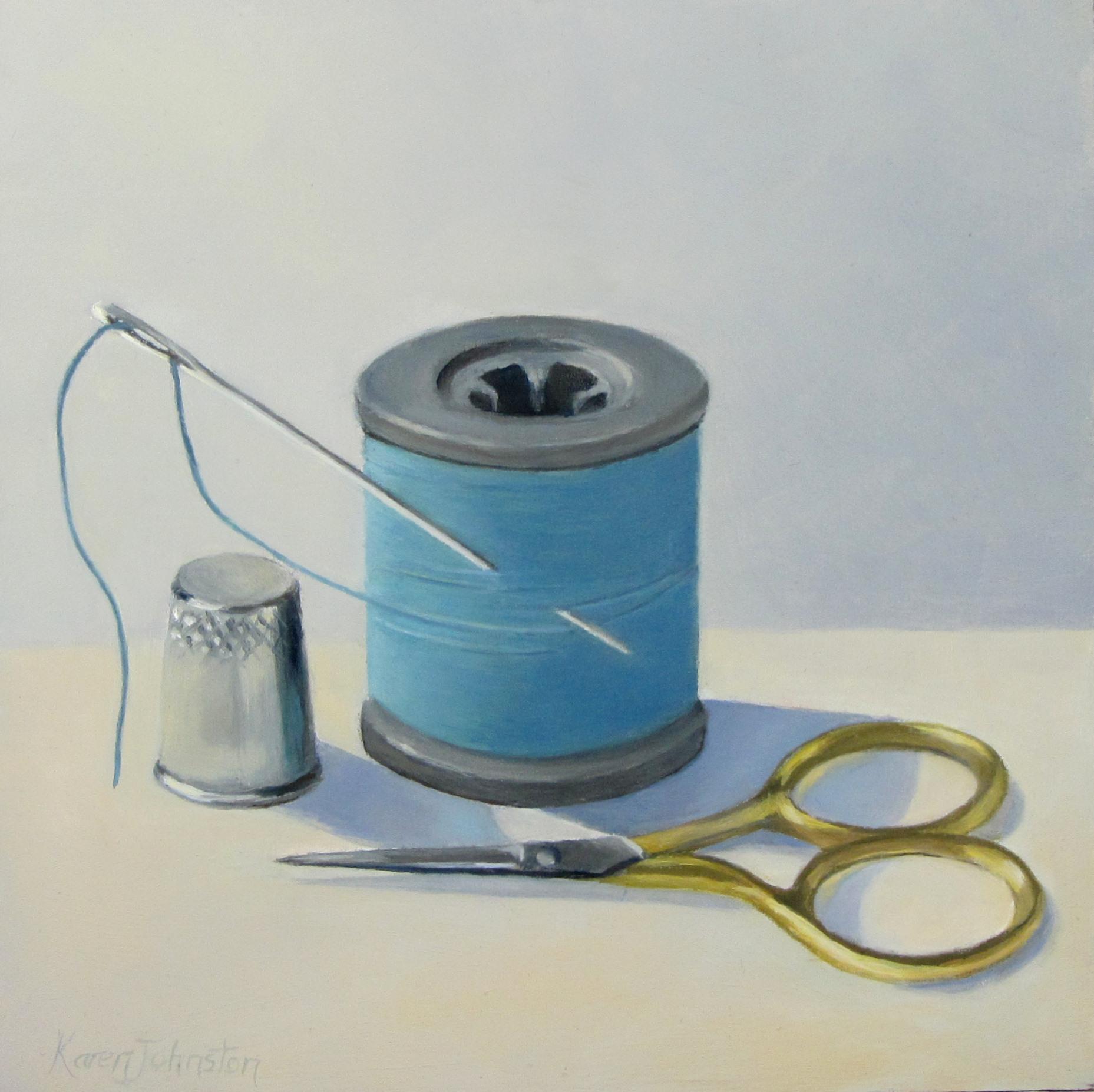 """Cotton and Company"" original fine art by Karen Johnston"