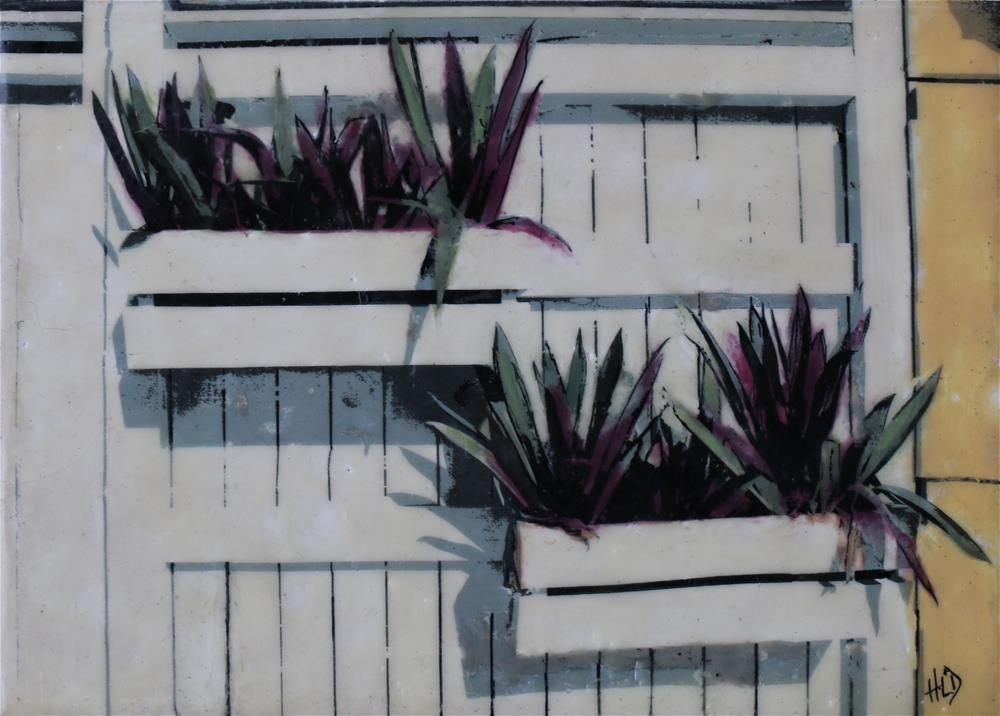 """Yucca"" original fine art by Heather Douglas"
