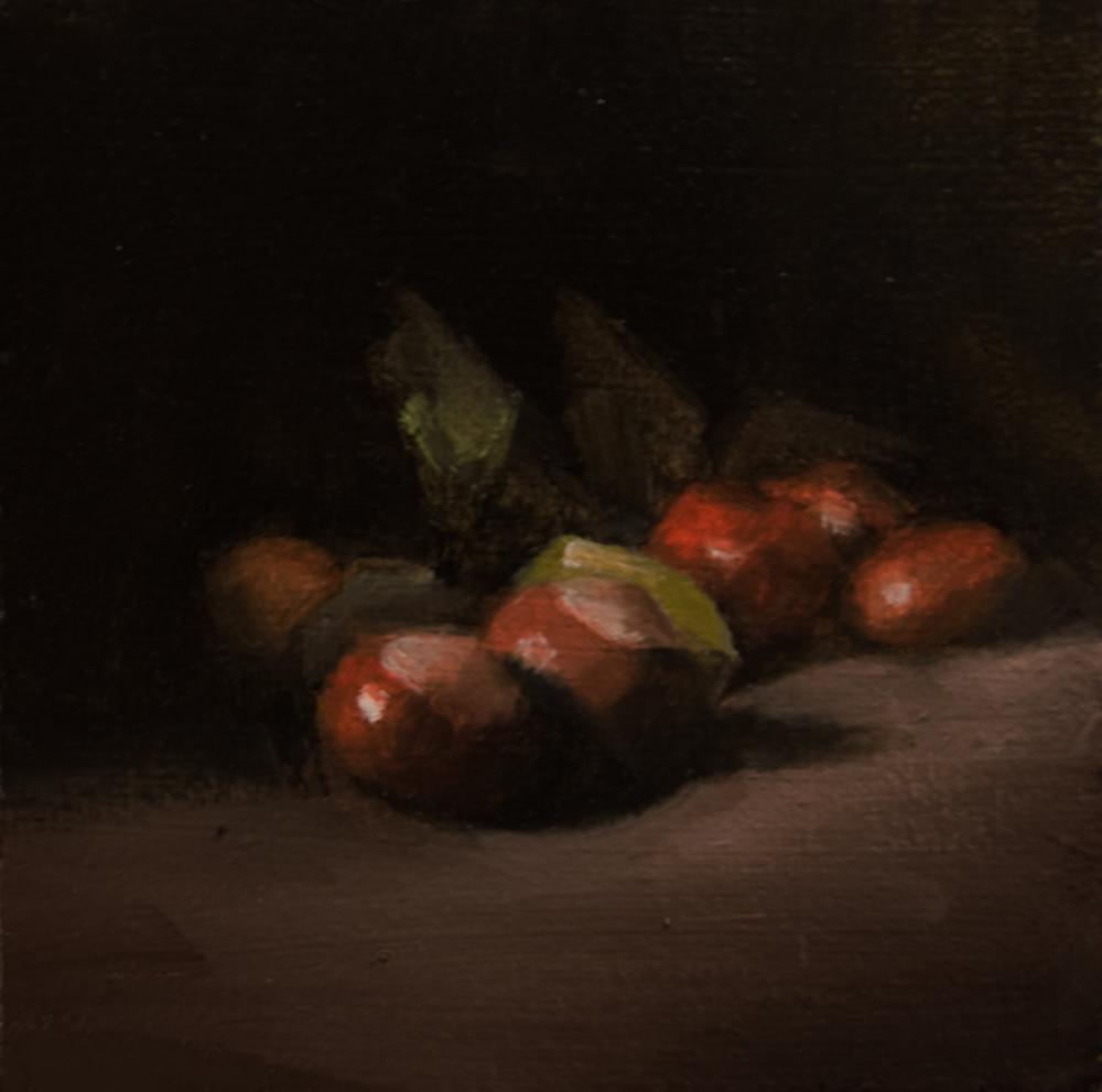 """""""Conkers"""" original fine art by Neil Carroll"""