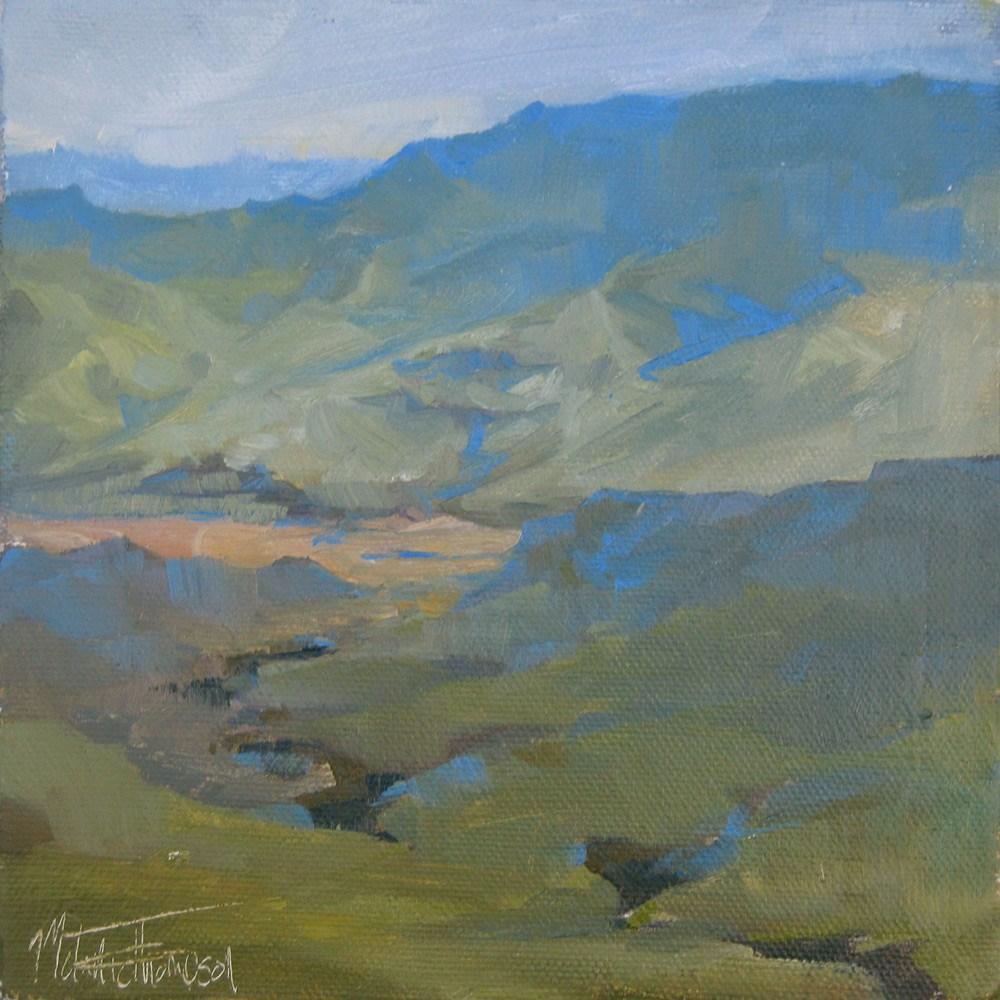 """""""Snake River Morning"""" original fine art by Melanie Thompson"""