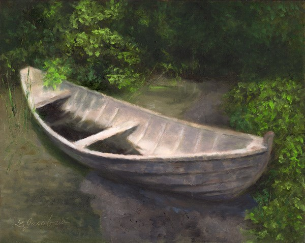 """Abandoned"" original fine art by Linda Jacobus"