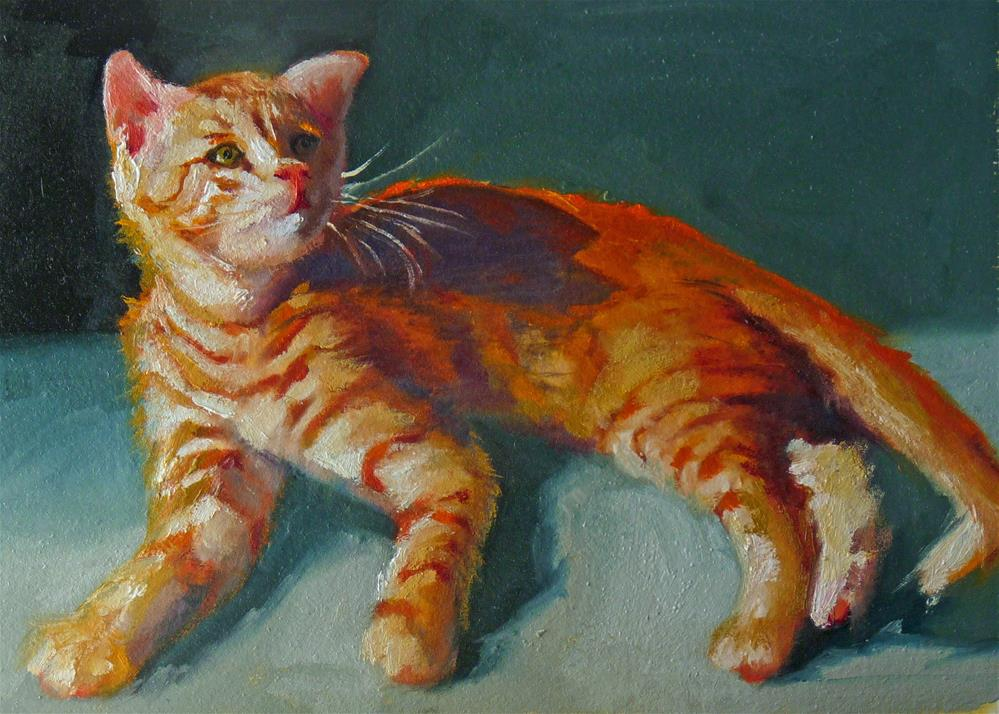 """Fuzzy Was!"" original fine art by Sharman Owings"