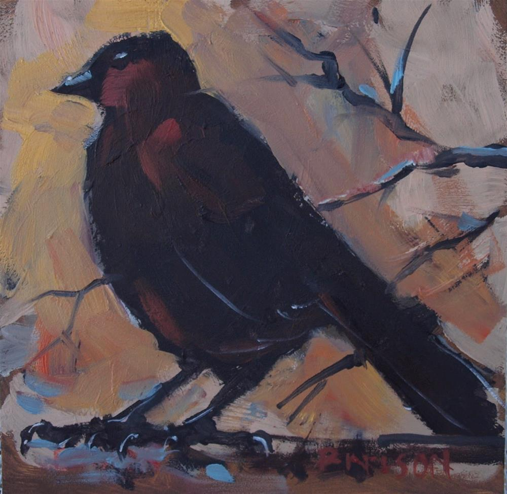 """Hope"" original fine art by Rick Nilson"