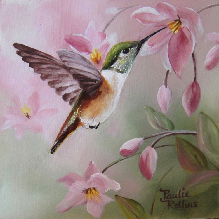 """A Soft Hum"" original fine art by Paulie Rollins"