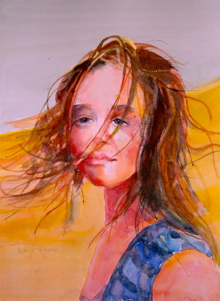 """The Dreamer"" original fine art by Reveille Kennedy"
