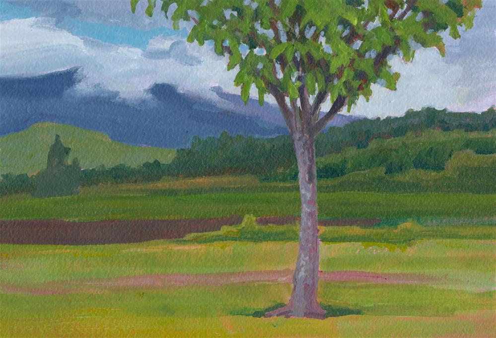 """Horse Chestnut"" original fine art by Mark Allison"
