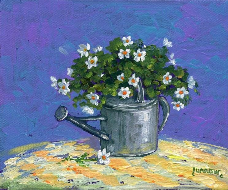 """Water Can"" original fine art by Sue Furrow"