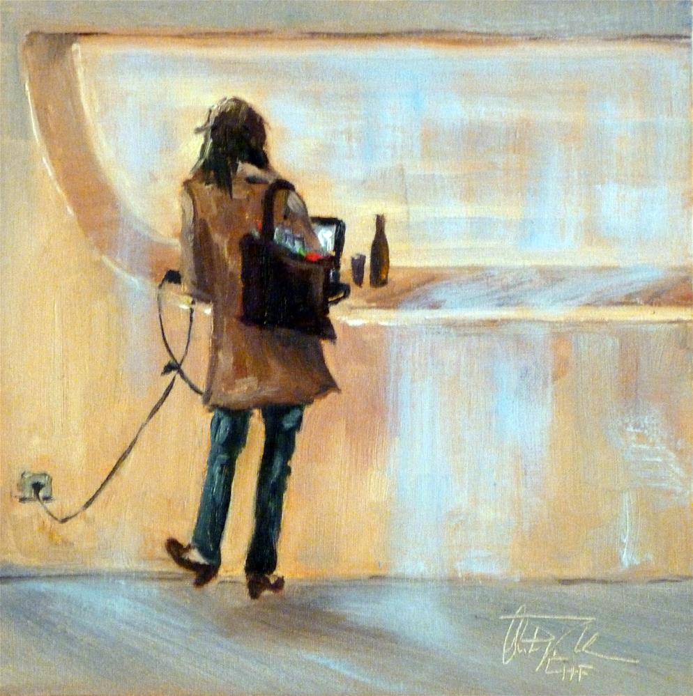 """Connected …"" original fine art by Christa Friedl"