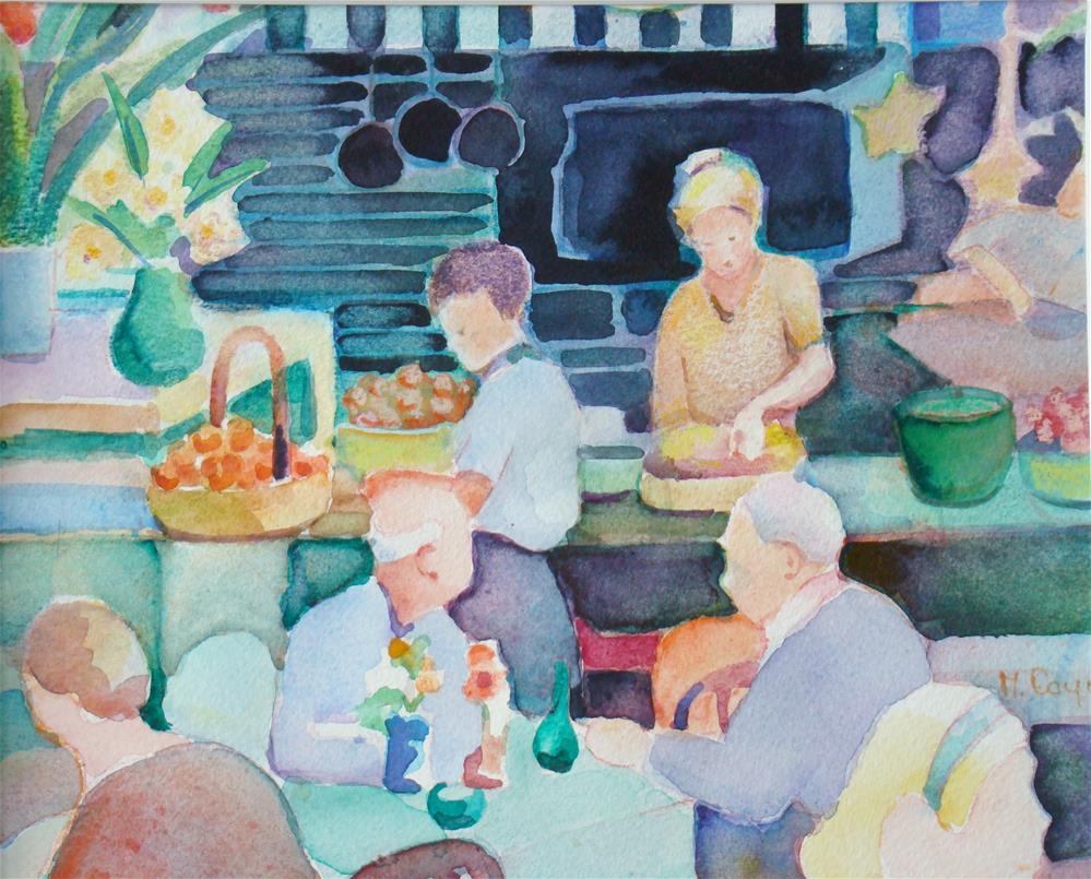 """""""Dade city"""" original fine art by meribeth coyne"""