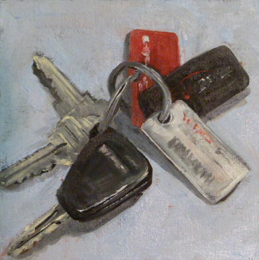 """Go Now"" original fine art by Judith Fletcher"
