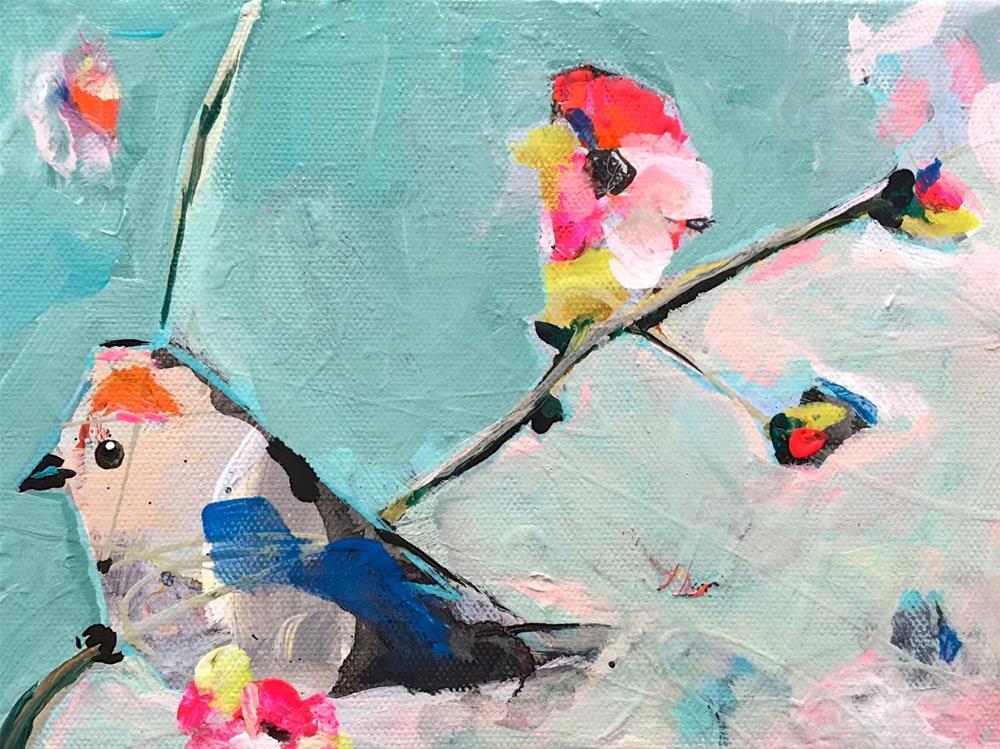 """Bird_OCT092015"" original fine art by Jenny Doh"