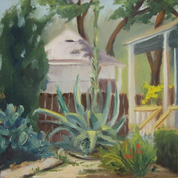 """Century Plant"" original fine art by Jane Frederick"