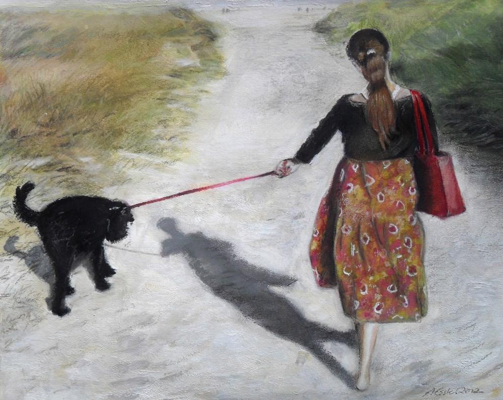 """Summer Holidays"" original fine art by Anja Essler"
