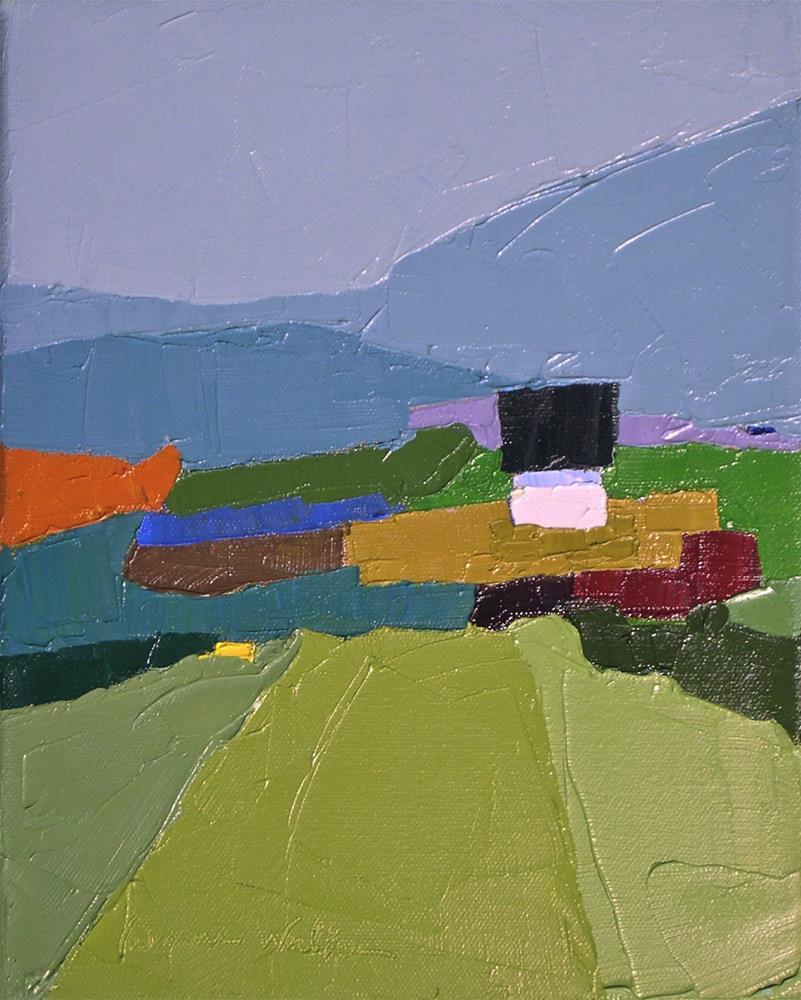 """""""A Quiet Spot II"""" original fine art by Donna Walker"""