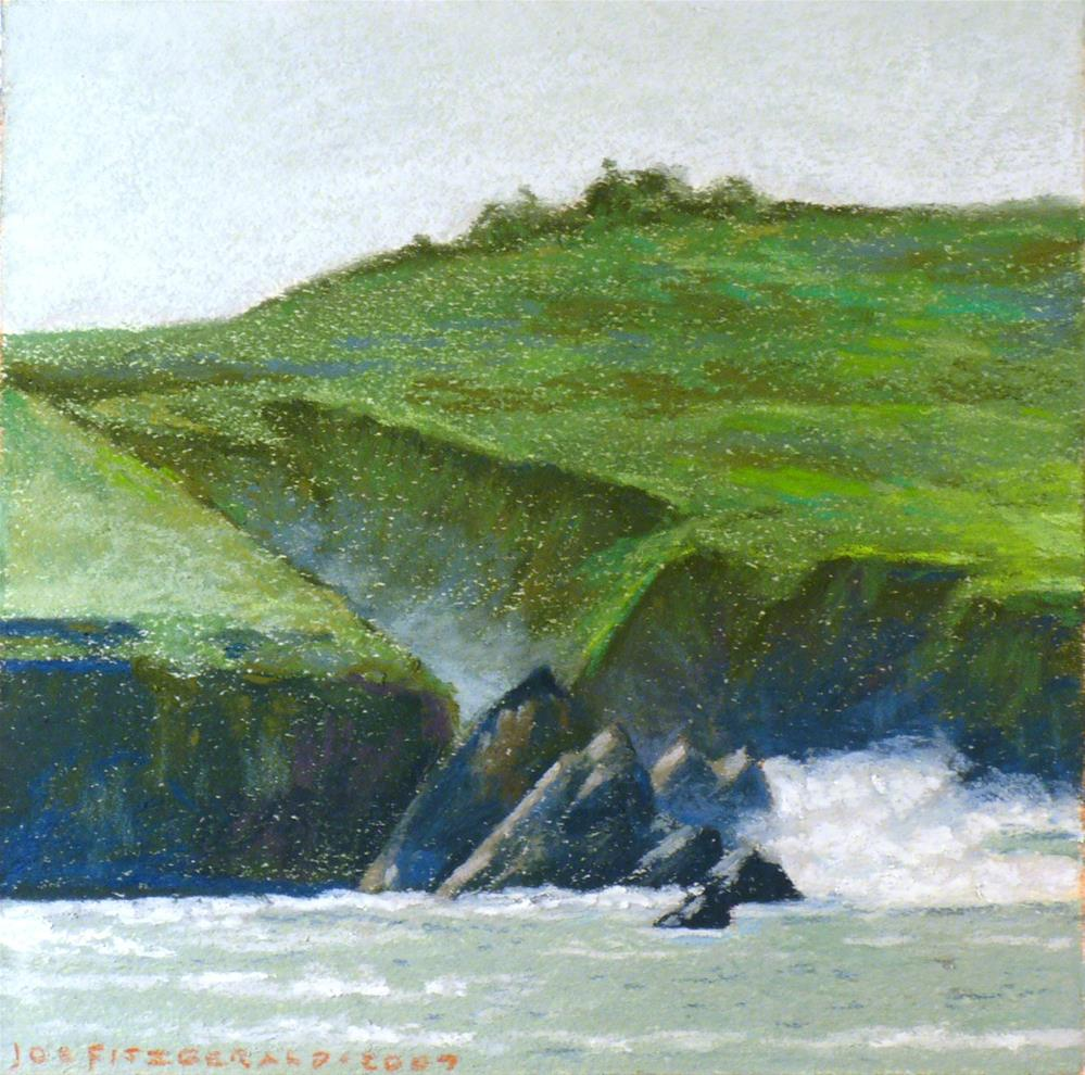 """Dingle, North of Slea"" original fine art by Joe Fitzgerald"
