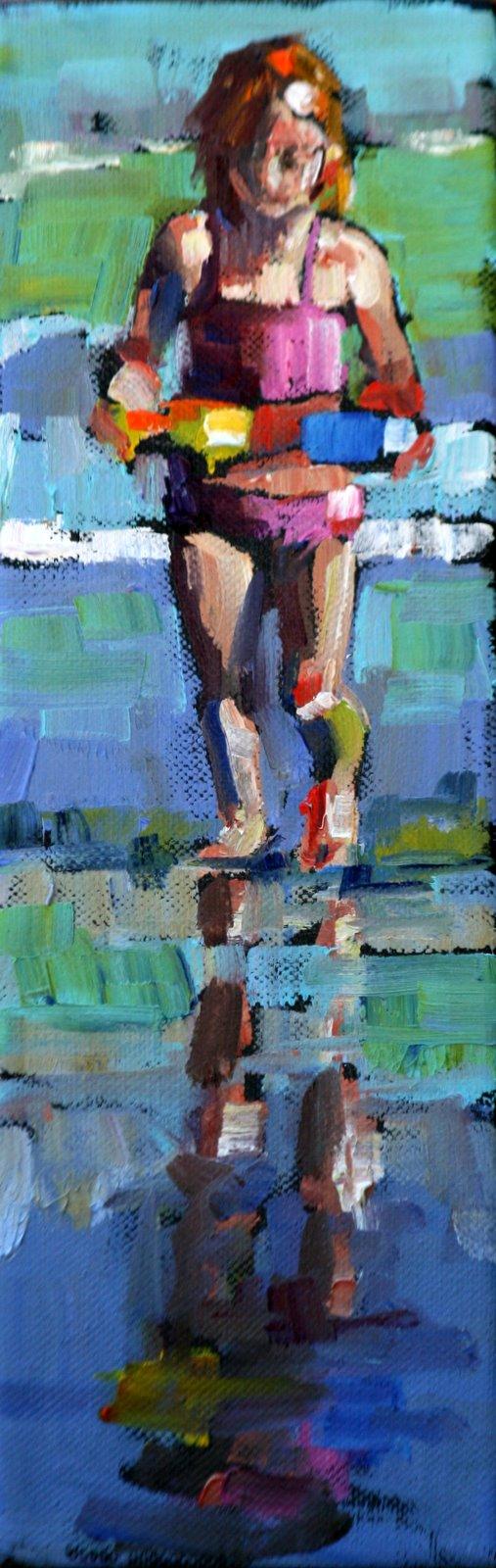 """reflection"" original fine art by Carol Carmichael"