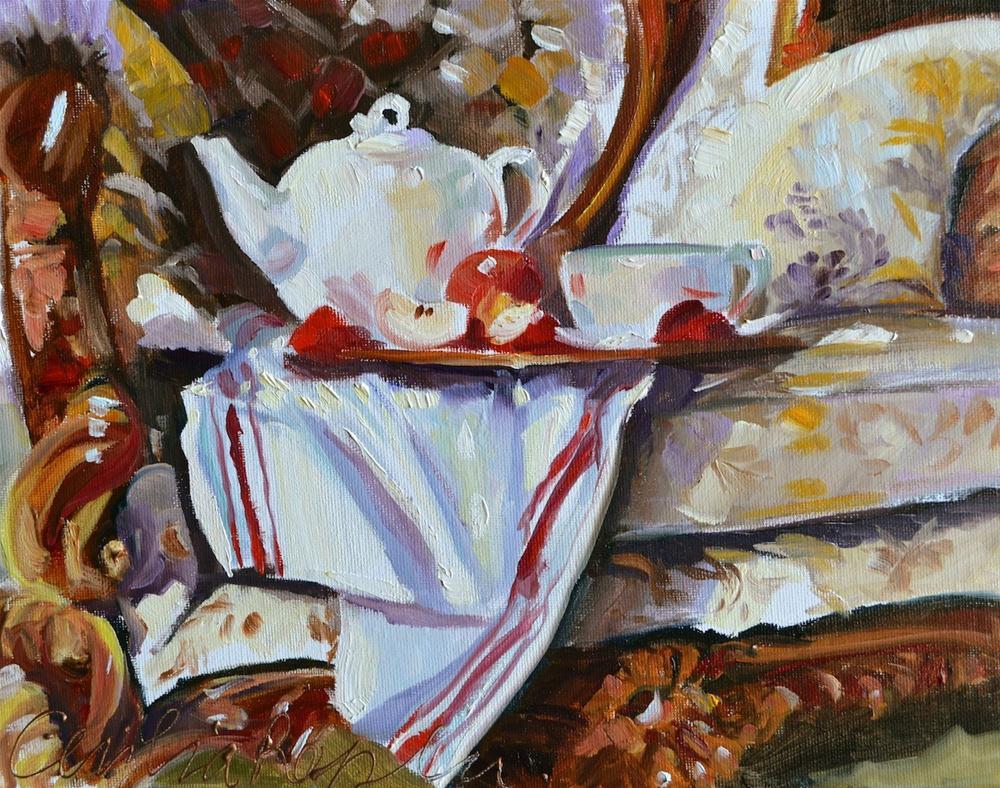 """""""ROOIBOS"""" original fine art by Cecilia Rosslee"""