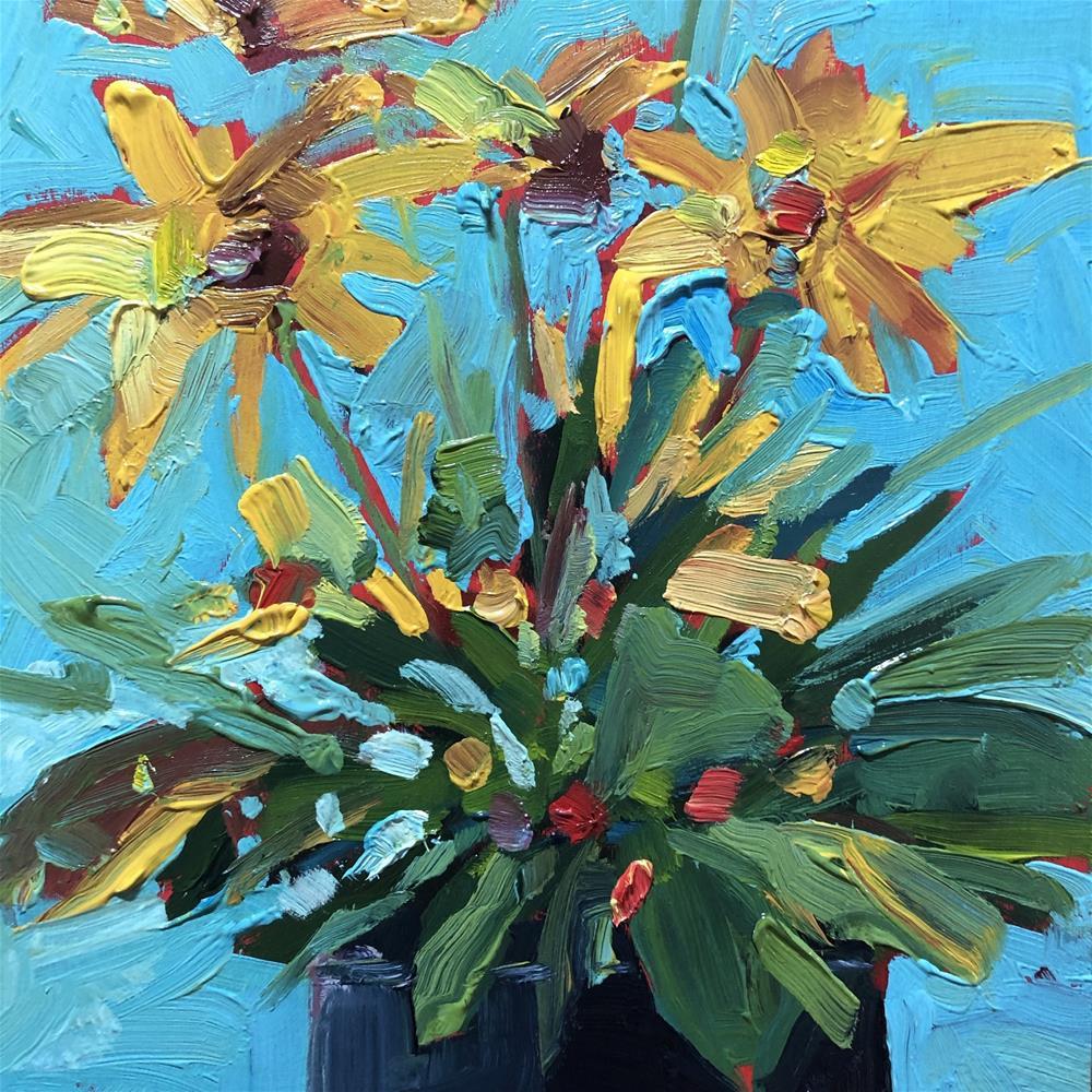 """1267: Sunny Afternoon"" original fine art by Brian Miller"