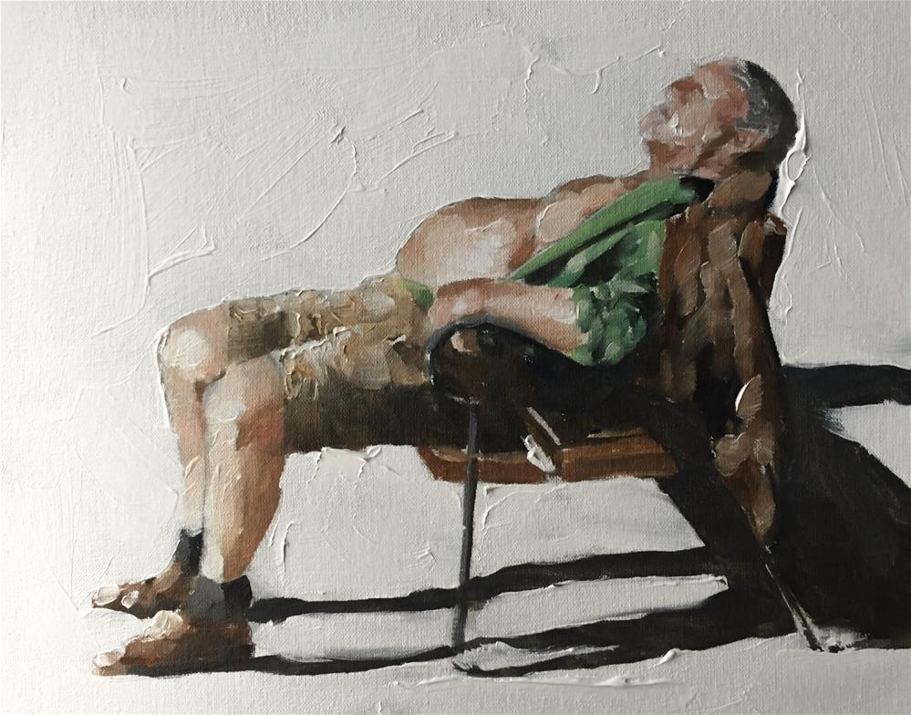 """Afternoon Nap"" original fine art by James Coates"