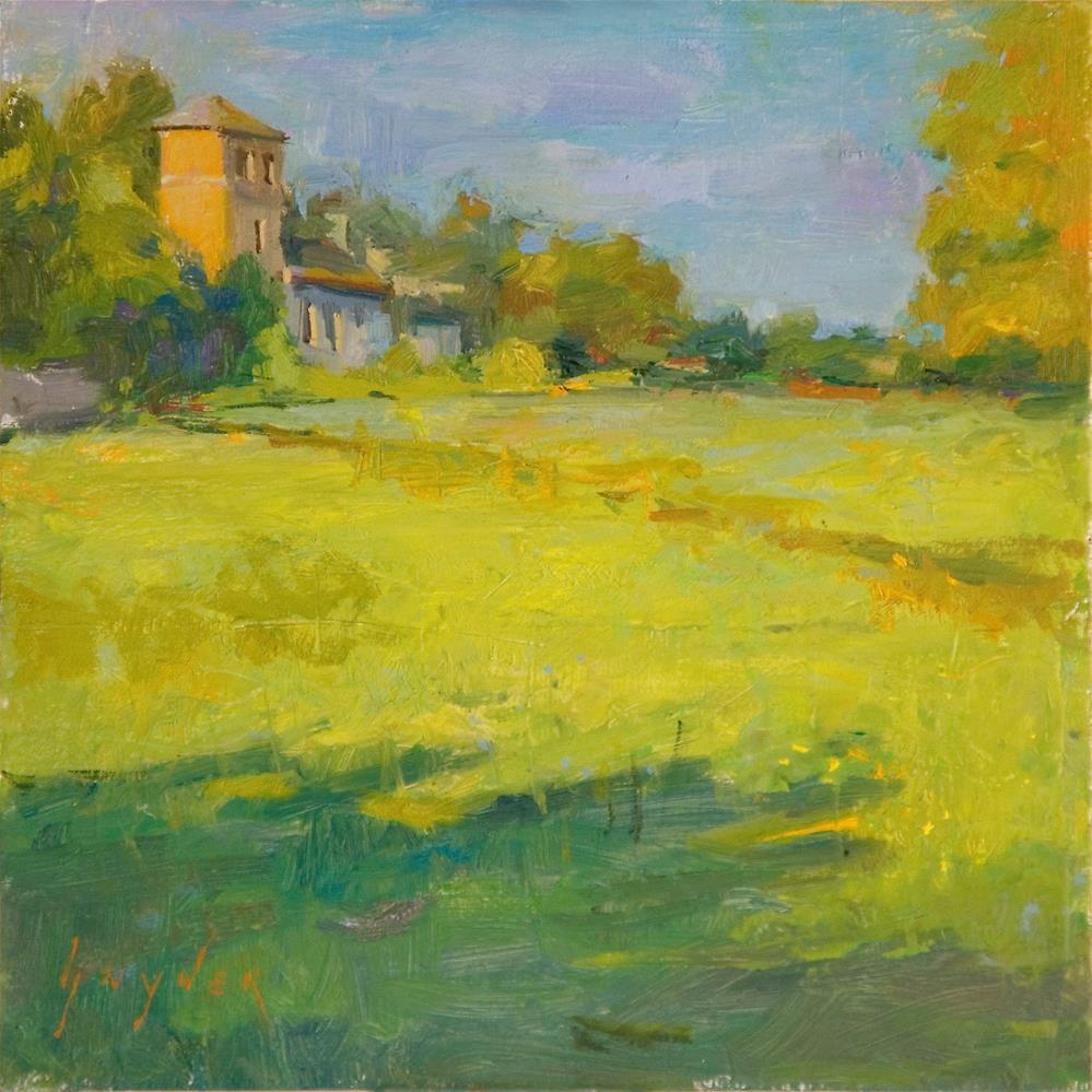"""""""Morning Splendor"""" original fine art by Julie Snyder"""