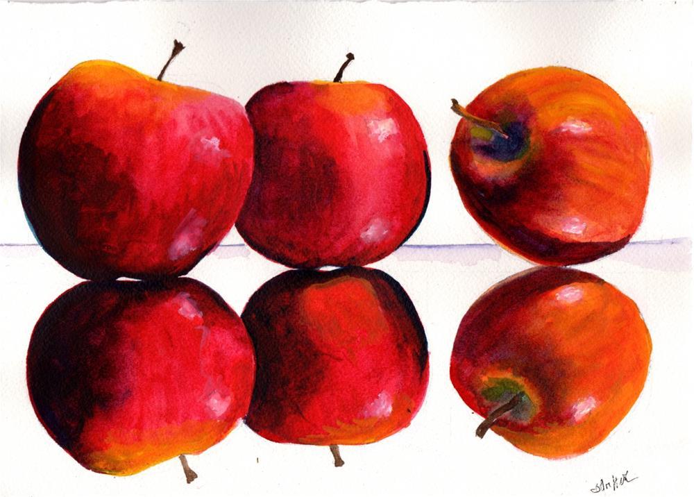 """Apples"" original fine art by Bunny Griffeth"