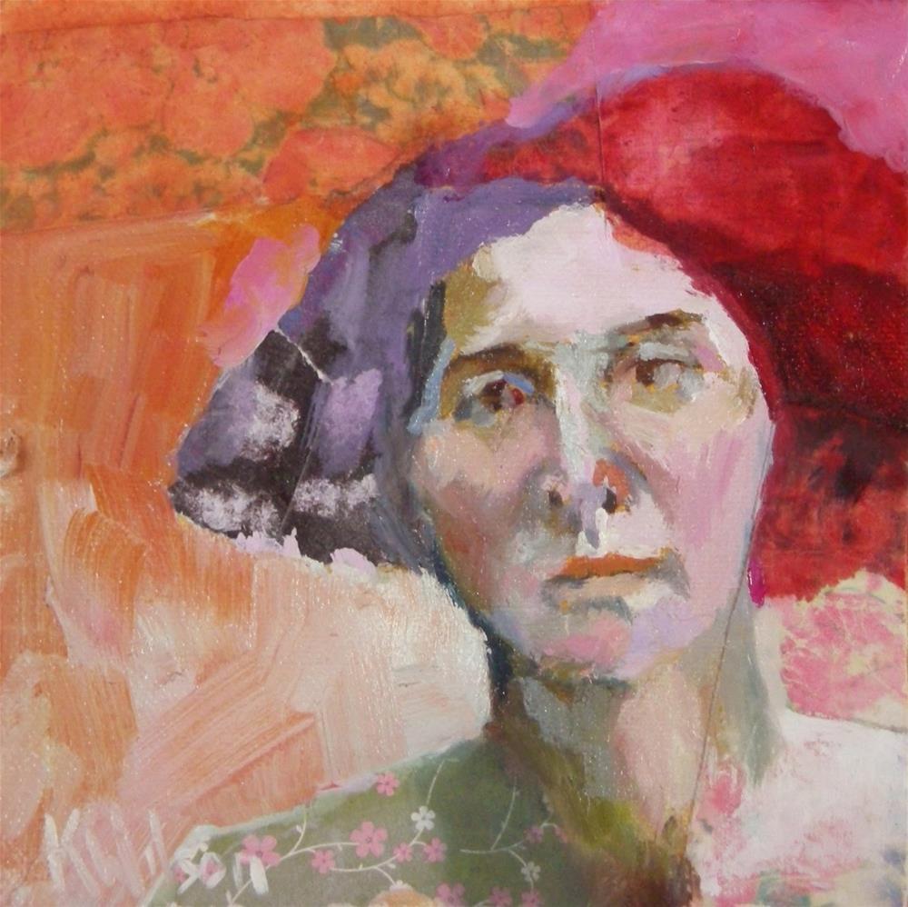 """""""Miss Missy"""" original fine art by Katie Wilson"""