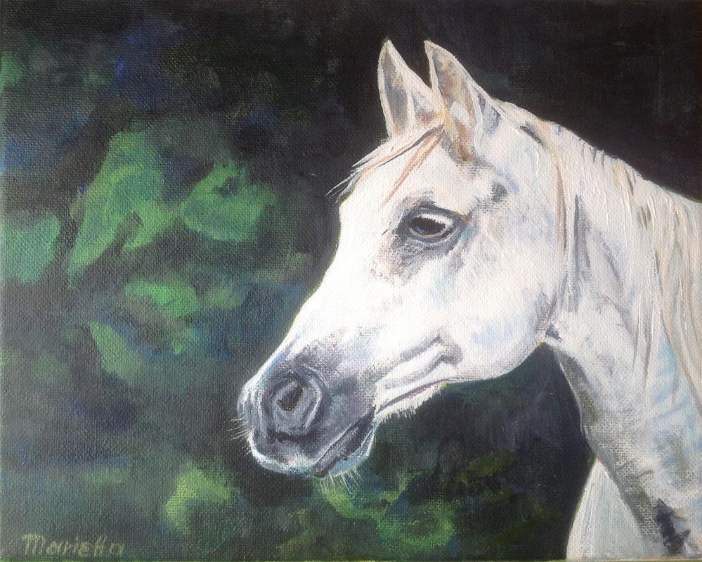 """ Royalty "" original fine art by Marietta Modl"