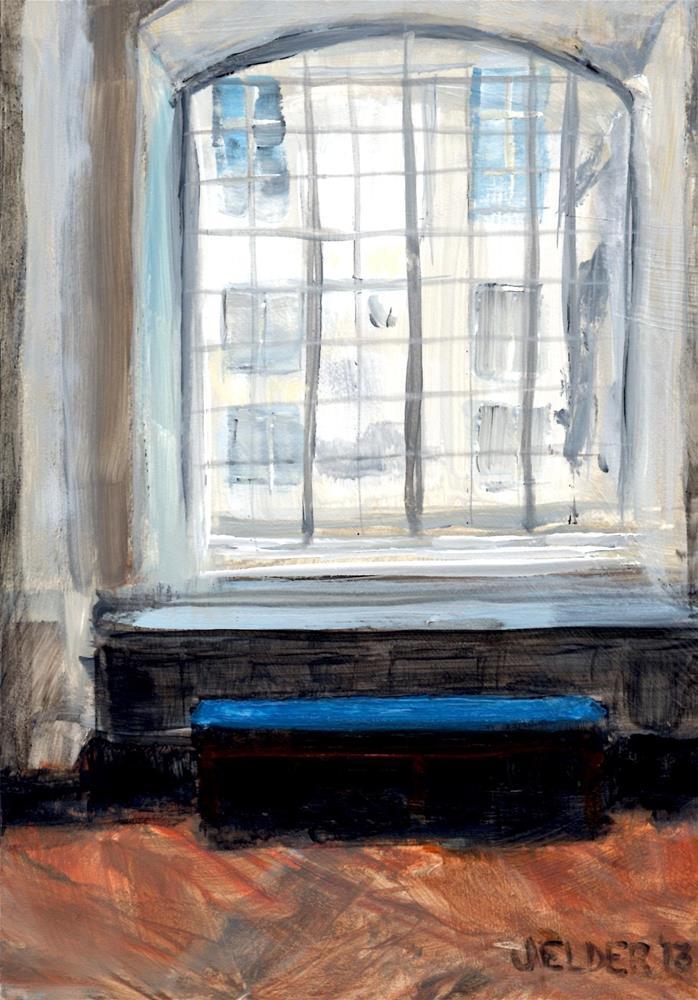 """Versailles No. 6"" original fine art by Judith Elder"