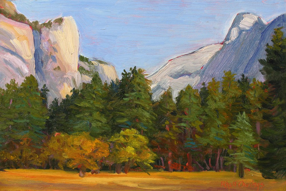 """Yosemite Autumn"" original fine art by Rhett Regina Owings"