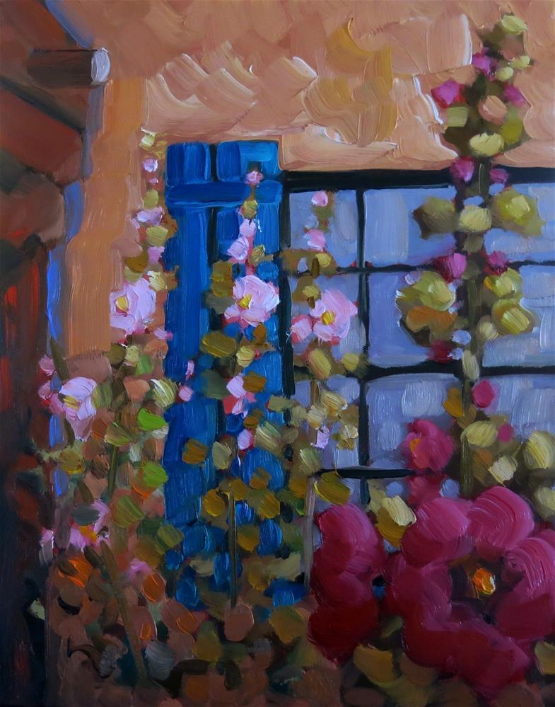 """THE GARDEN PORTAL"" original fine art by Dee Sanchez"