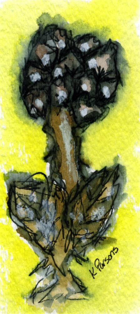 """Darkness in the Light"" original fine art by Kali Parsons"