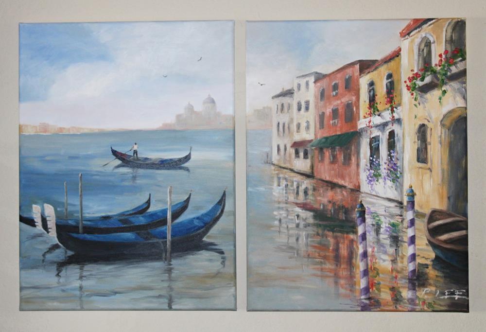 """""""Venice-cape"""" original fine art by Peter Lee"""