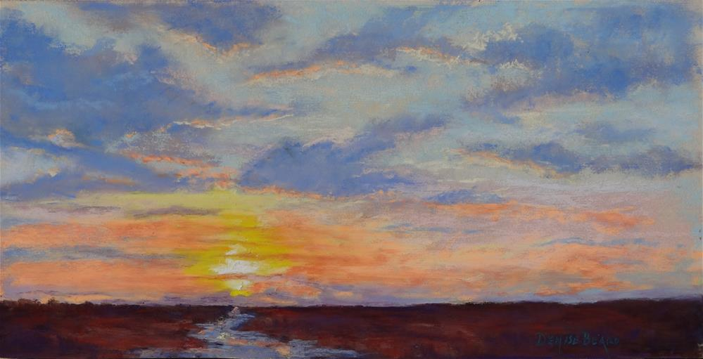 """New Dawn"" original fine art by Denise Beard"