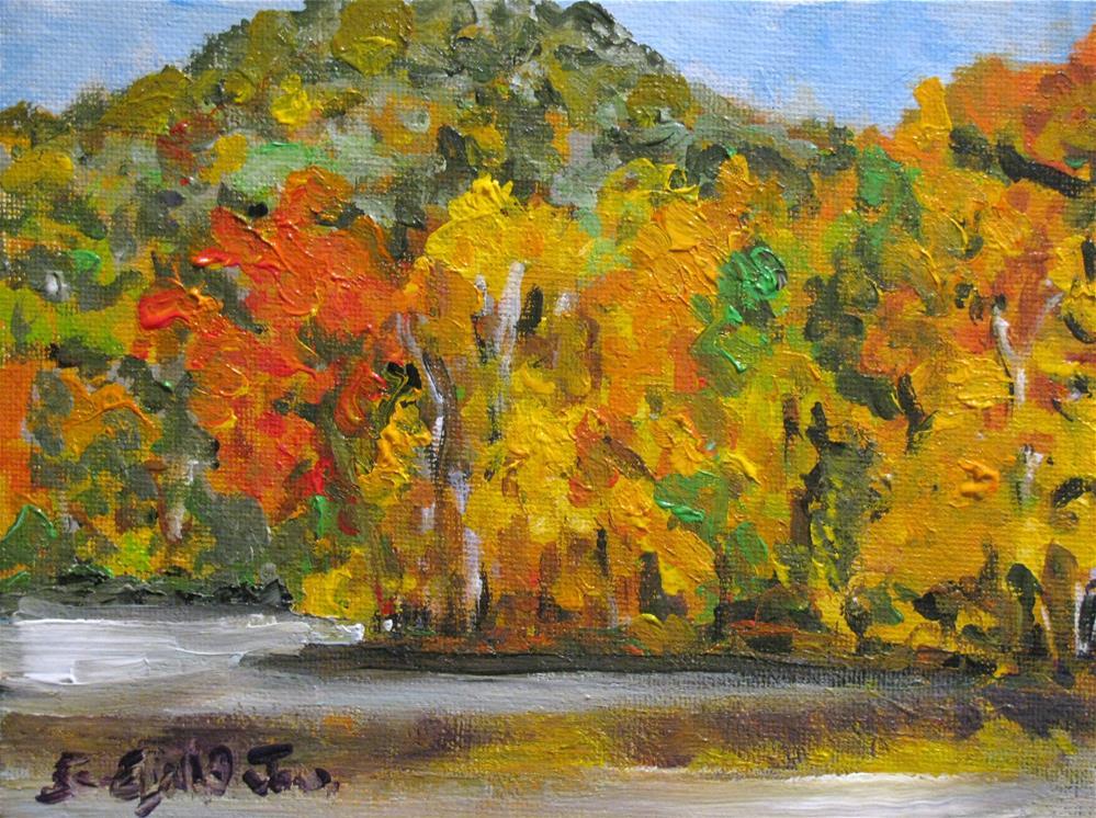 """""""Radnor Lake"""" original fine art by Susan Elizabeth Jones"""