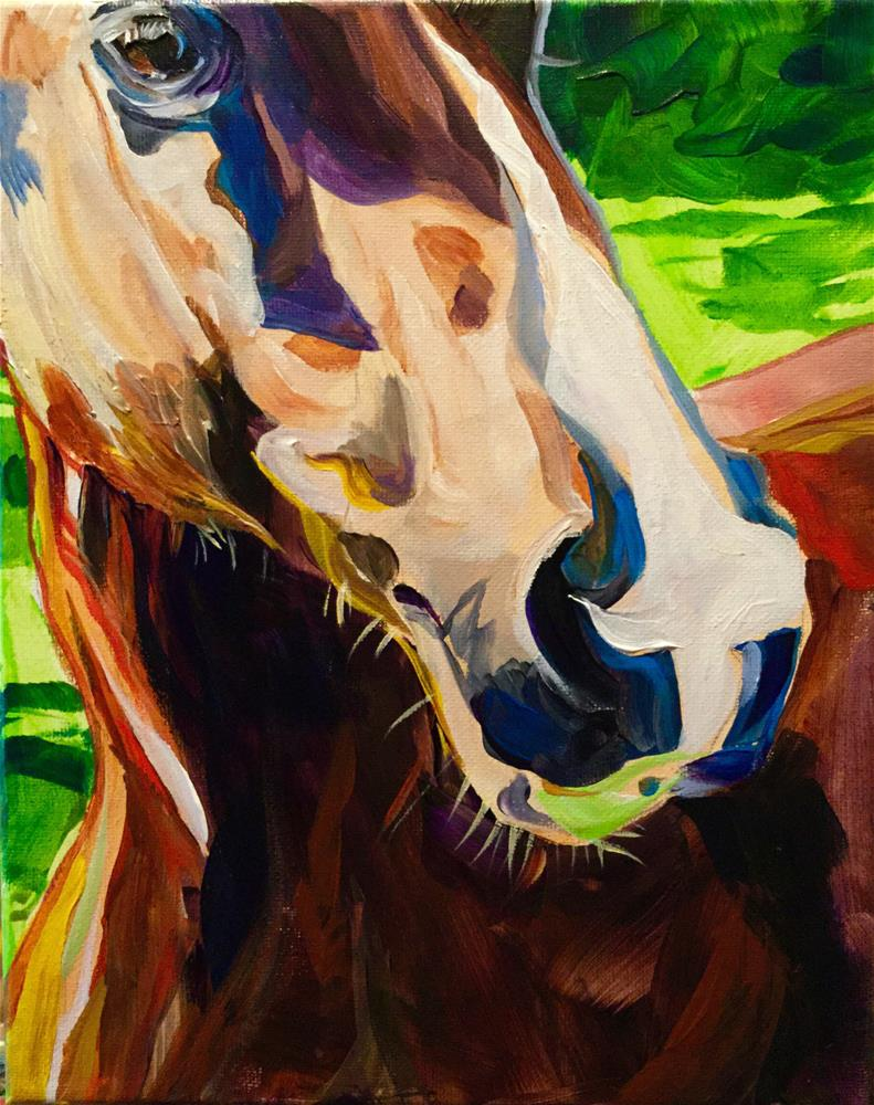 """Abigail"" original fine art by Lauren Kuhn"